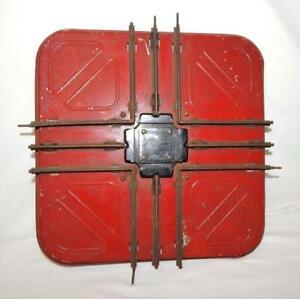 Prewar American Flyer 4409 Standard Gauge Crossing track Wide gauge 90 deg Red