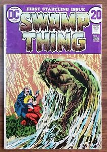 Swamp Thing #1 1972 1st App and Origin of Swamp Thing DC 🔥💎🔑