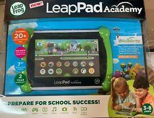"""LeapFrog EPICv3 LeapPad Academy Kids 7"""" Learning Tablet, Green"""