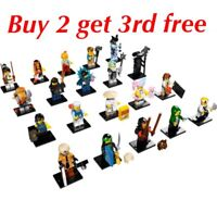 LEGO THE NINJAGO MOVIE MINIFIGURES 71019 -RETIRED CHOOSE YOUR LEGO MINIFIGURE