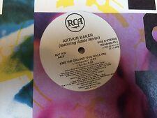 "ARTHUR BAKER FEAT ADELE BERTEI KISS THE GROUND YOU WALK ON 12"" 1991 RCA DJ PROMO"