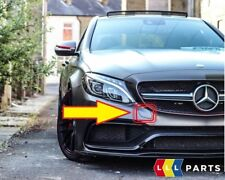 NEW GENUINE MERCEDES BENZ MB C63 W205 AMG FRONT BUMPER TOW HOOK EYE COVER PRIMED