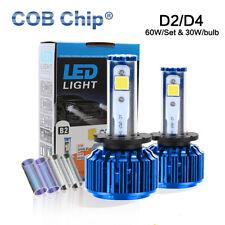 60W 6000LM D2C D2R D2S D4C D4S COB LED Headlight Kit for 2006-2011 Honda Civic