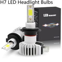 2Pcs H7 LED Conversion Kit Headlight Bulbs 10000K/3000K/6000K Headlamp 12V 24V