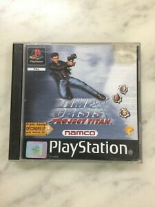 Jeu SONY PS1 PLAYSTATION TIME CRISIS PROJECT TITAN