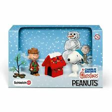 More details for schleich a charlie brown christmas scenery pack hand painted toys