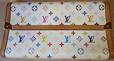 Authentic Louis Vuitton Multicolor Porte Tressor Long Wallet With Box & Dustbag