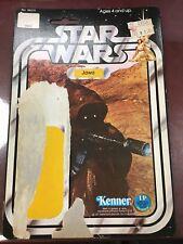 Star Wars Vintage Kenner Jawa Card Back 12 Back 1977
