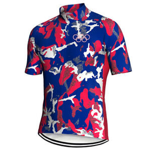 Chile Cycling Jersey Bike Jacket Short MTB Motocross Shirt Clothes Bicycle Top