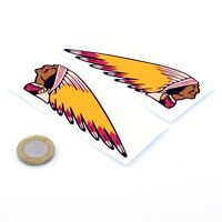 Indian Motorcycles Sticker Decal Vinyl Motorbike STICKERS 150mm x2 Handed