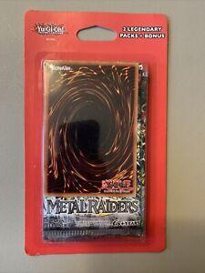 YuGiOh! METAL RAIDERS + (BONUS) Blister Legendary Pack Factory Sealed!