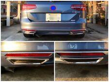R-Line Reflektor Blenden Edelstahl Chrom VW Passat B8 3G2 3G5 Limousine Variant