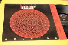 URIAH EHEEP LP EQUATOR ORIG 1985 EX+ ! CON INNER TESTI !!!!!!!!!!!!!!