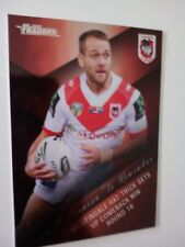 2018 NRL TRADERS '2017 SEASON TO REMEMBER' TRADING CARD - J.NIGHTINGALE/DRAGONS