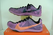 """New Womens 11 NIKE """"Zoom W 4"""" Spikes Track Running Shoes $75"""