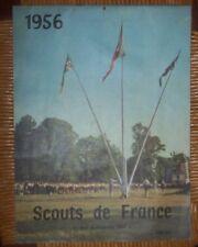SCOUT SCOUTS DE FRANCE 1956  CALENDRIER SUPERBE