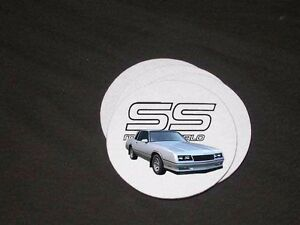 NEW Chevy Monte Carlo SS Soft Coaster Sets! (many to choose from)