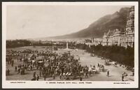 South Africa. Cape Town. Grand Parade City Hall. c1914 Unused R. Photo Postcard