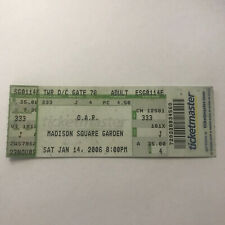 Oar Of A Revolution Madison Square Garden New York Ny Concert Ticket Stub 2006