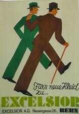 Original Plakat - EXCELSIOR Bern
