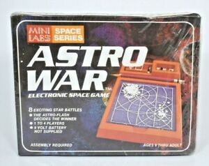 """VTG Educational Designs Mini Labs Space Series """"Astro War"""" Electronic Space Game"""