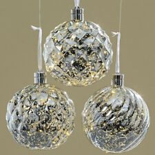 Beleuchtete Christbaumkugeln.Beleuchtete Weihnachtskugeln In Christbaumschmuck Günstig Kaufen Ebay