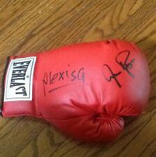 Alexis Arguello & Aaron Pryor Dual Autographed Everlast Boxing Glove SSG COA