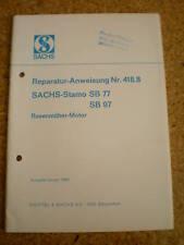 Reparaturanleitung Sachs Stamo SB 77/97 Stand 01/1969