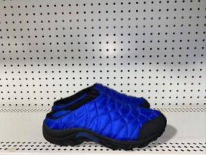 Merrell Alpine Moc Womens Slip On Moccasins Slippers Mules Size 10 Blue