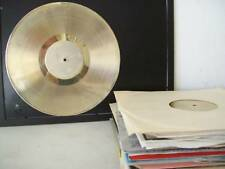 Gold Plated LP Record Album BLEMISHED Award Trophy Blank Custom Award RIAA Style