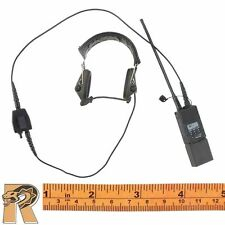 Black Female Shooter - Radio & Headphones - 1/6 Scale - Very Cool Action Figures