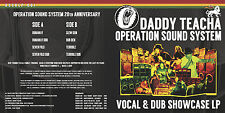 Papa teacha/Opération Sound System-VOCAL & DUB Showcase LP-UK REGGAE & DUB