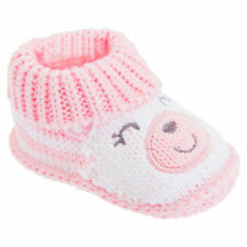 Girls Booties 100% Cotton Slip - on Baby Shoes