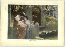 1902 A Schram ~ In Arcadia Artwork