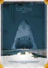 JAWS - polish poster - STEVEN SPIELBERG print [ lp lobby photo ] - Roy Scheider