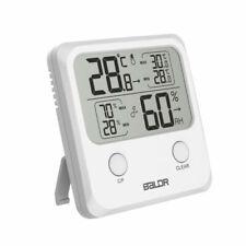 Digital Hygrometer LCD Indoor Thermometer Temperature Humidity Meter Gauge