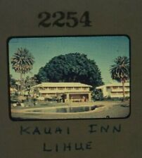 Vintage 1950s Kauai Inn Lihue Hawaii Original Slide