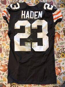 2014 Joe Haden Game Worn Home Cleveland Browns Jersey