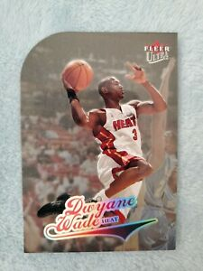 2004-05 DWYANE WADE FLEER ULTRA PLATINUM MEDALLION SP PARALLEL #22/100! CARD #66