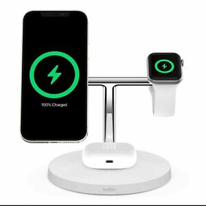 Belkin MagSafe 3 in 1 Wireless Charger *Brand New/Fast Shipping*