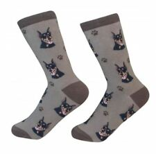 Doberman Pinscher Socks Unisex Dog Cotton/Poly One size fits most