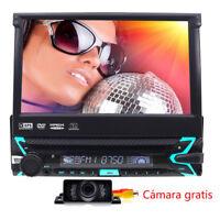 AUTORADIO RADIO DE COCHE PANTALLA TÁCTIL BLUETOOTH USB+SD NAVI GPS 1DIN CON DVD