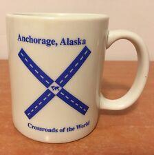 Alaska Mug Anchorage Coffee Cup Crossrods Of The World Cup Collectible Rare