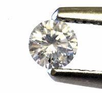 loose brilliant round diamond .19ct SI2 G 3.60X2.22mm vintage estate antique