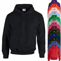 Adults Hoodie Fruit of the Loom Hoody Top Mens Womens Boys Sweatshirt Top NEW