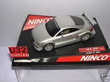 NINCO 50252 SLOT CAR AUDI TT-R TUNING  ROAD CAR SILVER MB