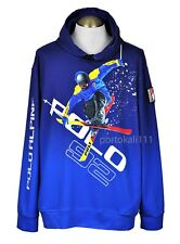 Polo Ralph Lauren Alpine Skier Cotton Hoodie Men's 2XL/XXL Blue Multi NWT $398