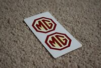 MG Motorsport Sport Classic Racing Rally Race Car Decals Stickers 50mm