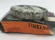 TIMKEN L610510 TAPERED ROLLER BEARINGS