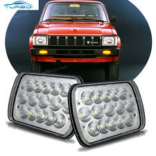 LED Sealed Beam Headlights for Toyota Pickup Tocoma Truck Square Headlamp Bulbs
